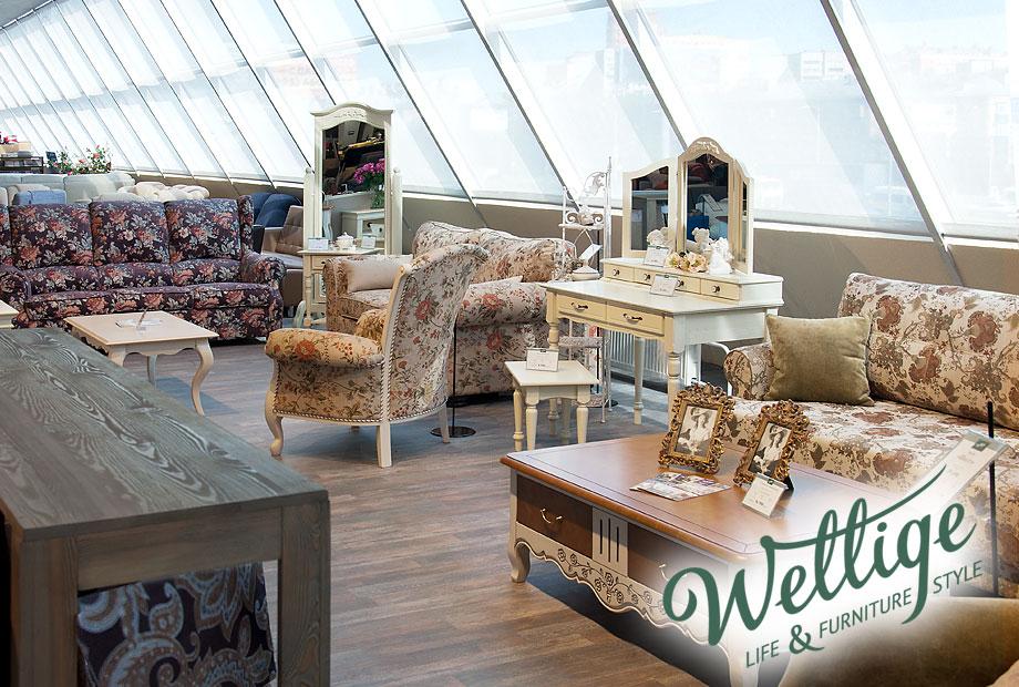 Мягкая мебель Прованс в салоне Wellige в ТЦ Гранд