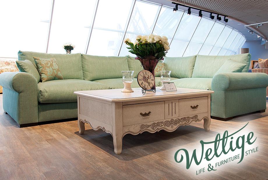 Угловой диван Велидж в салоне Wellige в ТЦ Гранд